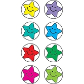 Teacher Created Resources, Happy Stars Mini Stickers, Multi-Colored, Pack of 528