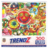 MasterPieces, Trendz Funny Face Food Jigsaw Puzzle, 300 Pieces, 18 x 24 inches