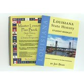 A Helping Hand, State History from a Christian Perspective Louisiana Set, Grades 3-12