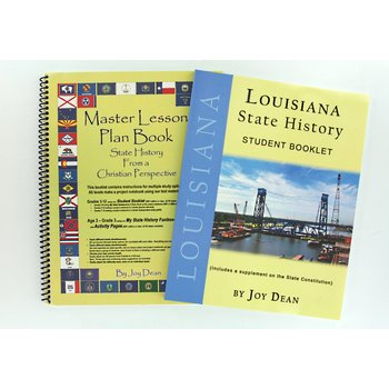 A Helping Hand, Louisiana State History Student and Teacher Books, Paperback and Spiral, Grades 3-12
