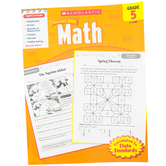 Scholastic, Success With Math Activity Book, 64-Pages, Paperback, Grade 5