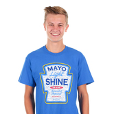 Kerusso, Matthew 5:16 Mayo Light Shine, Men's Short Sleeve T-shirt, Royal Blue, S-3XL