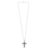 Spirit & Truth, Philippians 4:13, I Can Do All Things Iron Cross, Men's Necklace, Stainless Steel, 24 Inches