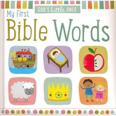 God's Little Ones: My First Bible Words, Board Book