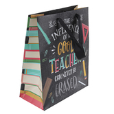 ThreeRoses, The Influence Of A Good Teacher Medium Gift Bag, 11 1/2 x 9 1/2 x 4 1/2 inches