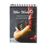 CTA, Inc., Prayer Starters Flip Book, When Words Fail, 3 x 4 Inches