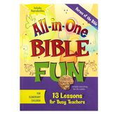 All-in-One Bible Fun for Elementary Children: Heroes of the Bible Activity Book, Ages 6-10