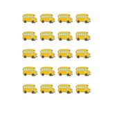 Teacher Created Resources, School Bus Stickers, 1 Inch, Pack of 120