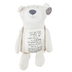 Demdaco, Poetic Threads Stuffed Bear, Polyester, 23 1/2 inches
