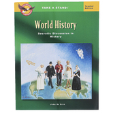 The Classical Historian, Take a Stand! World History Teacher Edition, 133 Pages, Grades 9-12