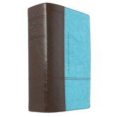 NLT Life Application Study Bible, Personal Size, Duo-Tone, Multiple Colors Available