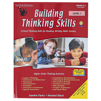 The Critical Thinking Co., Building Thinking Skills Level 1, Paperback, 376 Pages, Grades 2-3