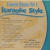 Favorite Hymns Volume 4, Karaoke Style, As Made Popular by Various Artists, CD+G