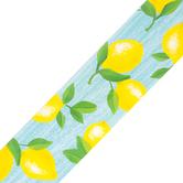 Teacher Created Resources, Lemon Zest Straight Border Trim, Trimmer, Yellow, Green, Blue, 35 Feet
