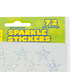 Eureka, Silver Stars Self-Adhesive Stickers, Silver, Pack of 72