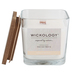 Wickology, Vanilla Orchid Jar Candle, Wooden Wick, 13.6 Ounces