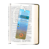 Dicksons, Footprints Coin Bookmark with Coin, 2 x 6 inches