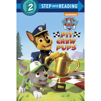 PAW Patrol, Pit Crew Pups, Step Into Reading, Level 2, by Kristen L. Depken, Paperback