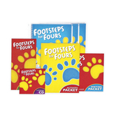 BJU Press, Footsteps for Fours K4 Complete Subject Kit, 2nd Edition, Grade Preschool