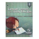 Master Books, Language Lessons for a Living Education 1, Paperback, Grade 1