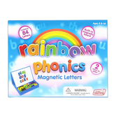 Junior Learning, Rainbow Phonics Magnetic Letters, 84 Letters, Ages 5-7