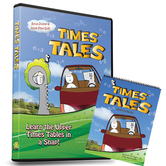 Trigger Memory, Times Tales, Upper Times Tables Animated DVD with Mini Flip Book, Grades 3-12