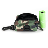 Kerusso, Paws and Pray, 2 Corinthians 5:7 Walk By Faith Pet Bag Dispenser, Polyester, Camo, 3 x 2 inches