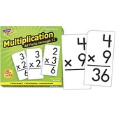 Multiplication All Facts Through 12 Skill Drill Flash Cards