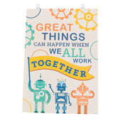 Renewing Minds, Great Things Can Happen Motivational Poster, 13 x 19 Inches, Multi-Colored, 1 Each