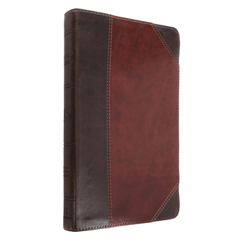 ESV Ultrathin Bible, Duo-Tone, Brown and Walnut
