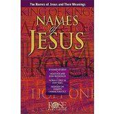 Names Of Jesus Pamphlet