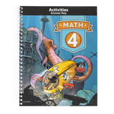 BJU Press, Math 4 Reviews Answer Key, 4th Edition, Paperback, Grade 4