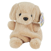 Aurora, Palm Pals, Sunny Lab the Golden Labrador Stuffed Animal, 5 inches