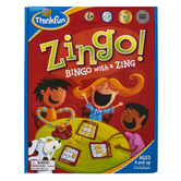 ThinkFun, Zingo 1-2-3, Ages 4 and Older, 2 to 6 Players
