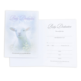 Warner Press, Lamb Folded Baby Dedication Certificates and Envelopes, 5 x 7 inches, Set of 6