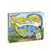 Dinosaurs A to Z, Poke-a-Dot Book, by Melissa & Doug, Board Book