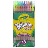 Crayola, Twistable Colored Pencils, 18 Count