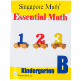 Singapore Math Inc., Essential Math Kindergarten B, Paperback, 158 Pages, Grade K