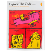 Educators Publishing Service, Explode the Code Book 4, 2nd Edition, Grades 1-3