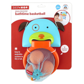 Skip Hop, Darby Dog Bathtime Basketball, Ages 1 Year & Older, 7 1/4 x 6 3/4 x 6 3/4 inches, 4 Pieces