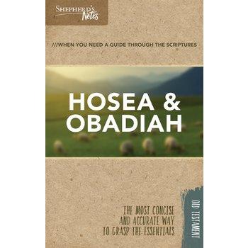 Hosea & Obadiah, Shepherd's Notes Series, by Robert Lintzenich, Paperback