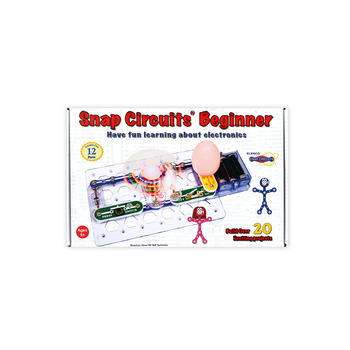Elenco Electronics, Snap Circuits Beginner Kit, 13 Pieces, Ages 8 and up