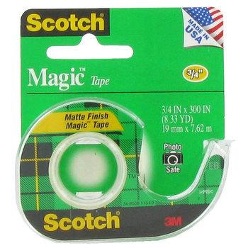Scotch Magic Tape, 3/4 x 300 inches