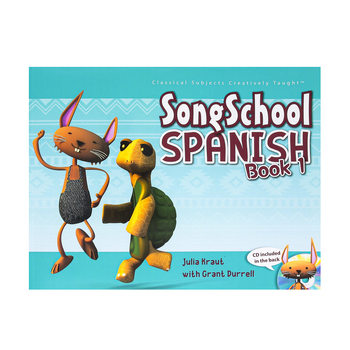 Classical Academic Press, Song School Spanish Student Book with CD, Grades 1-3