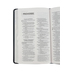 NIV Thinline Reference Bible, Bonded Leather, Navy, Thumb Indexed