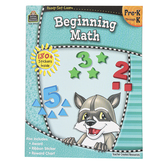 Ready-Set-Learn Activity Book: Beginning Math, 64 Pages, Grades PreK-K