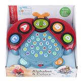 Infantino, Alphabet & Colors Learning Ladybug, 9 1/2 x 6 1/2 x 8 inches