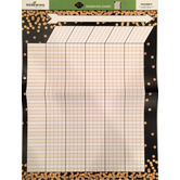 Glimmer of Gold Collection, Customizable Incentive Chart, 17 x 22 Inches, 1 Each