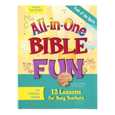 All-in-One Bible Fun for Elementary Children: Fruit of the Spirit Activity Book, Ages 6-10