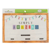Farmhouse Lane Collection, Simply Amazing Certificates, 8.5 x 5.5 Inches, Multi-Colored, Pack of 30